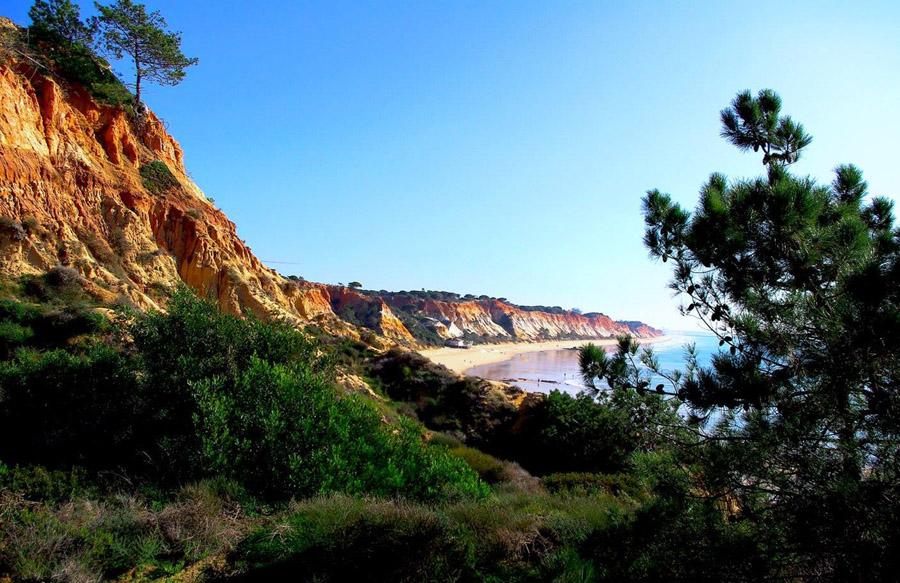 Wanderung zum Praia da Falesia
