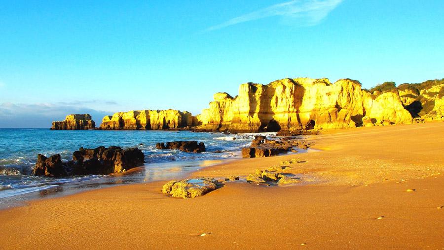 Praia Coelo Winter 2014. Das Foto ist farblich nicht nachbearbeitet